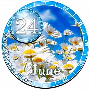 Daily Horoscope for June 24, 2018