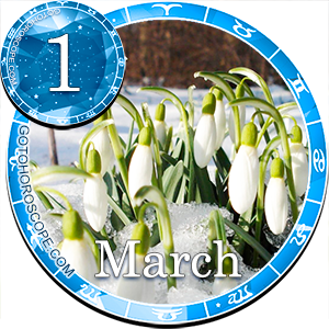 Daily Horoscope for March 1, 2013