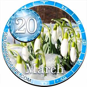 Daily Horoscope for March 20, 2018