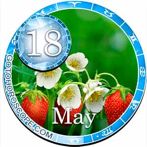 Daily Horoscope for May 18, 2018