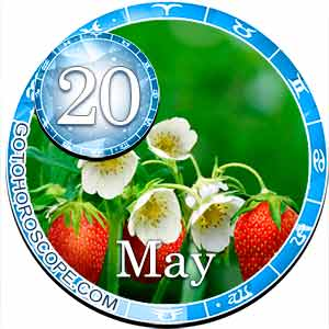 Daily Horoscope for May 20, 2018