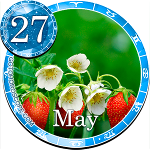 Daily Horoscope for May 27, 2012