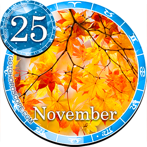 Daily Horoscope November 25, 2011 for all Zodiac signs