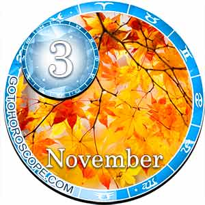 Daily Horoscope November 3, 2018 for 12 Zodica signs
