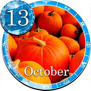Daily Horoscope for October 13, 2017