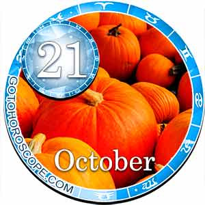 Daily Horoscope for October 21, 2018