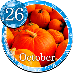 Daily Horoscope October 26, 2012 for all Zodiac signs