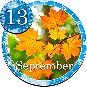 Daily Horoscope for September 13, 2012