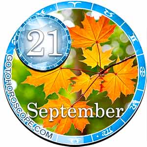 Daily Horoscope for September 21, 2018