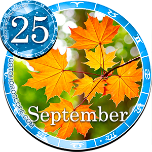 Daily Horoscope for September 25, 2016