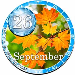 Daily Horoscope for September 26, 2018