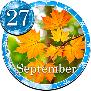 Daily Horoscope for September 27, 2013