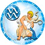 Zodiac sign Aquarius icon