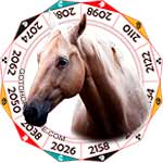 2020 Chinese Horoscope Horse for the Rat Year