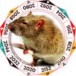 2020 Chinese Horoscope Rat for the Rat Year