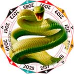 2020 Chinese Horoscope Snake for the Rat Year