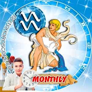 Monthly Horoscope for Aquarius image
