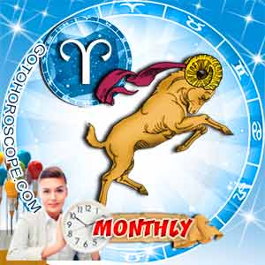 Monthly Horoscope for Aries image