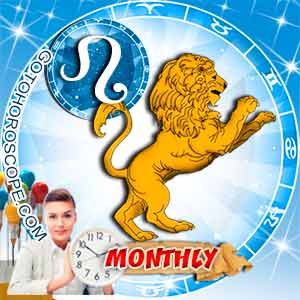 Monthly Horoscope for Leo image