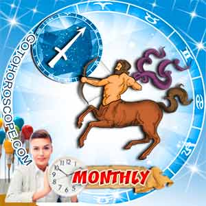 Monthly Horoscope for Sagittarius image