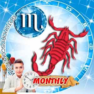 Monthly Horoscope for Scorpio image