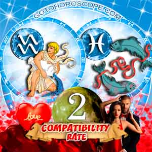 Compatibility Horoscope for Aquarius and Pisces