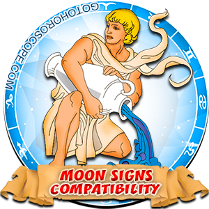 Aquarius Zodiac Compatibility with Moon in Sign