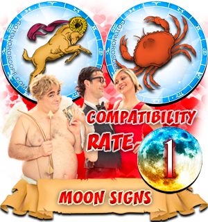 Compatibility Horoscope for Aries and Cancer