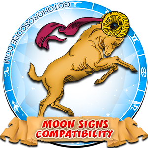 Aries Zodiac Compatibility with Moon in Sign