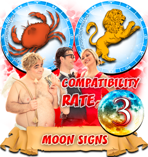 Leo Cancer Moon signs Compatibility