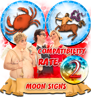 Compatibility Horoscope for Cancer and Sagittarius
