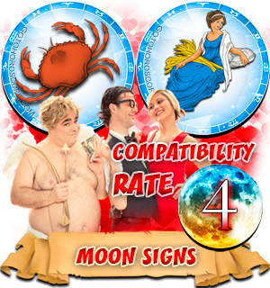 Compatibility Horoscope for Cancer and Virgo