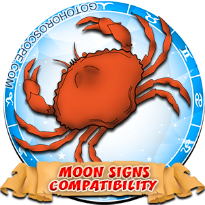 Cancer Zodiac Compatibility with Moon in Sign