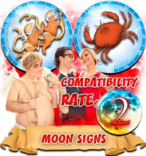 Compatibility Horoscope for Gemini and Cancer