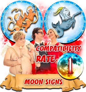 Capricorn Gemini Moon signs Compatibility