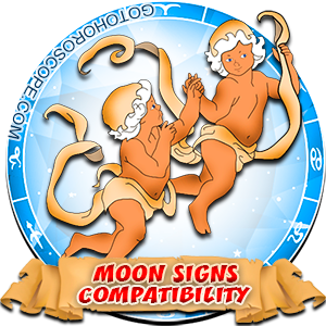 Gemini Zodiac Compatibility with Moon in Sign
