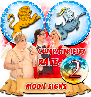 Capricorn Leo Moon signs Compatibility