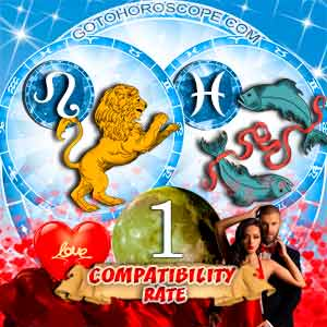 Compatibility Horoscope for Leo and Pisces