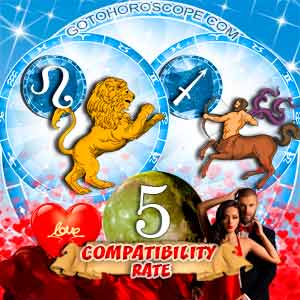 Compatibility Horoscope for Leo and Sagittarius