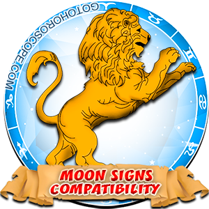 Leo Zodiac Compatibility with Moon in Sign