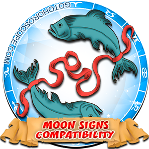Pisces Zodiac Compatibility with Moon in Sign