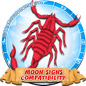 Scorpio Zodiac Compatibility with Moon in Sign