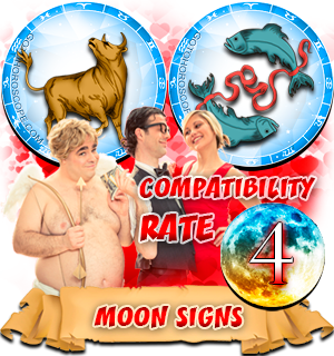 Compatibility Horoscope for Taurus and Pisces