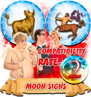 Compatibility Horoscope for Taurus and Sagittarius
