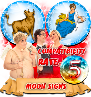 Virgo Taurus Moon signs Compatibility