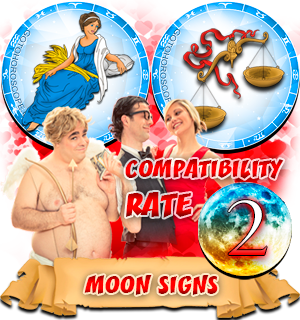 Libra Virgo Moon signs Compatibility