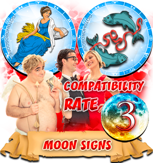 Pisces Virgo Moon signs Compatibility
