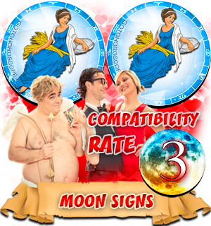 Virgo Virgo Moon signs Compatibility