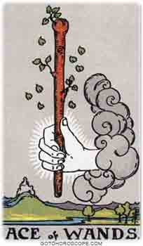 Ace of wands Tarot Card Meanings for Minor Arcana