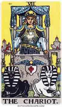 Chariot Tarot Card Meanings for Major Arcana